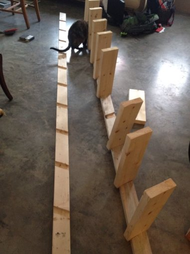 Building a loft ladder