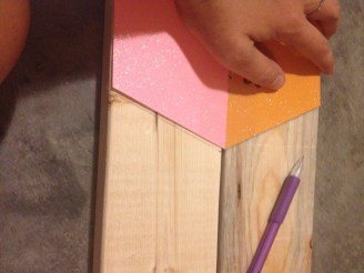 Creating a ladder rung guide