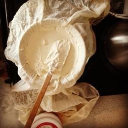 Creating Coeur à la crème (yum!)